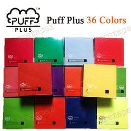 PUFF BAR PLUS 800+Puff Disposable PUFF PLUS Cartridge 550mAh Battery 3.2mL Pre-Filled Vape Pods Stick Style e Cigarettes FREE SHIPPING