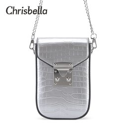 cell phone shoulder Australia - CHRISBELLA New Fashion Women Small Handbags PU Leather Cell Phone Pouch Female Long Clutch Crossbody Shoulder Bags for Ladies Q1106