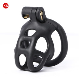 Wholesale New Design 3D Printing Cock Cage Penis Sleeve Plastic lockable Male Chastity Device Penis Rings Adult Games Sex Toys For Men