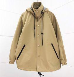 Wholesale men s coat patterns for sale – custom 21ss new pattern mens women designer jackets classic winter fashion men s clothing luxury hooded sweatshirt thin windbreaker coats