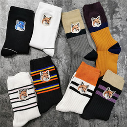 Wholesale crew socks online – funny Real pics colors Hip Hop Printed Printed Socks Men Sock Fashion Unisex Casual Cotton Crew Socks