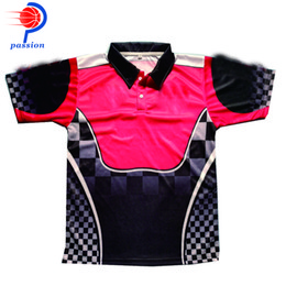 f1 crew shirt NZ - 100% Polyester Quick Dry European Size F1 Shirt Unisex Customized Design Black Red Polo Neck Car Crew Pit Racing Shirts