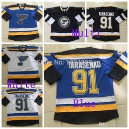 Wholesale outlets new jersey for sale – custom Factory Outlet Cheap New St Louis Blues Vladimir Tarasenko Jersey Home Road Away Blue White Ice Hockey Jerseys Embroider Logos