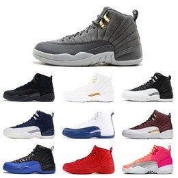 Новые 12 Баскетбол обувь 12s игры Royal Red Hot ФИБА Панч Reverse такси крылья Мужские тренеры Спортивные кроссовки 7-13 на Распродаже