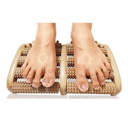 Wholesale Body Health Care Foot Massager Roller Wood Wooden Massage Tool
