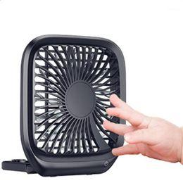 Araba Arka Koltuk Fanı Taşınabilir Ince Ve Katlanabilir Küçük Fan Araba Sessiz Katlanır Ev Ofis Soğutma ile1