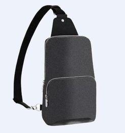 Высококачественные реальные кожаные мужчины Avenue Avenue Bag Bag Canvas Textile подкладки мужские сумки на плечо мода крошечные сумки на Распродаже