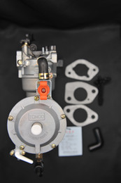 Wholesale 177F Dual Fuel Carburetor for Gasoline Generator LPG NG Propane CONVERSION Hybrid GX270 TONCO Brand