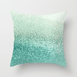 geometric series 2020 - 2020 New Mint Green Series Cushion Cover 45cm Square Throw Pillows Cases Modern Nordic Simple Geometric Pillows Cover Ho