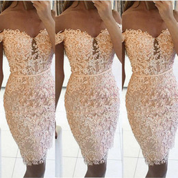 Wholesale shein dresses resale online - New Women Formal Party Dress Summer Floral Lace Short Sleeve Sexy V Neck Bodycon Dresses Lady Elegant Shein Pencil Dress Vestido