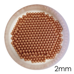 Wholesale 2mm Solid Copper Bearing Balls (Min 99.9% Cu) For Galvanic Applications And Electronic Industry