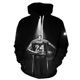 all star hoodie NZ - All-Star Basketball Hoodie No. 24 Memorial Clothes Men's Sports Casual Hoodie A1109