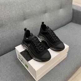 Großhandel Chanei Qualitäts-Paar Low Cut Fitness Schuhe Männer luxurys Designer Schuhe Frauen Designer Sneaker