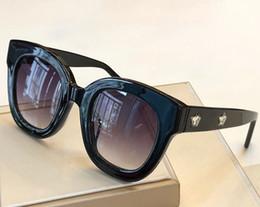 Sunglasses For women Summer style Anti-Ultraviolet 0208 Retro Shield lens Plate Rectangle full frame fashion Eyeglasses Random Box 0208S on Sale