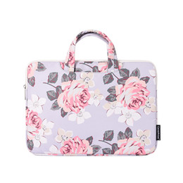 laptop women bag NZ - Fashion Protective Laptop Briefcase Bag For Macbook Air 12 13 14 15 Inch Computer Shockproof Notebook Cover Women Laptop Bag