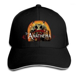black trucker cap hat 2021 - 2020 Hip Hop Caps Anathema the metal band Mesh Baseball Cap Adjustable Snapback Hats For Women Men Trucker Cap1