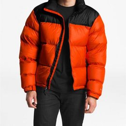 Wholesale windbreaker jackets size resale online – 2020 Winter Jacket Down Jacket Mens Jackets windbreaker Thick Warm Hooded Letters Embroidery Casual Fashion Asian size M XL