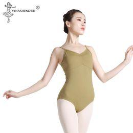 Wholesale black leotard costume women for sale - Group buy Adult Tank Black Ballet Leotard for Dance Costumes Girls Ballet Clothes Women Professionl Gymnastics Leotards Ballerina Costumes