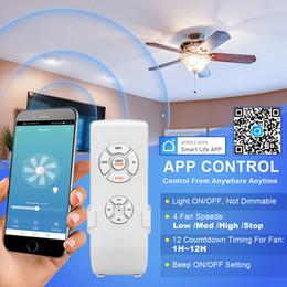 Venta al por mayor de En stock! Lámpara de eilpara Control remoto inteligente Control Velocidad variable Receptor inalámbrico universal con accesorios de control remoto de candelabro