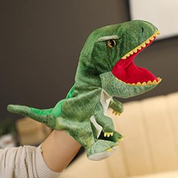 Wholesale shark puppet for sale - Group buy Plush Hand Puppets Crocodile Shark Frog Toy Mouth Movable Kindergarten Home Interactive Kids Adults Stuffed Puppets Props jllIJf