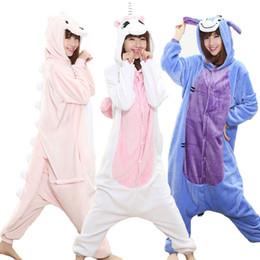 Wholesale men s onesie online – ideas Kigurumi Anime Onesie Adult Men Women Unicorn Sleepwear Pajama Soft Fancy Unicornio Pijima Overall Nightwear Onepiece Y200107