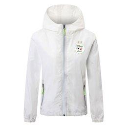 Vente en gros 2020 2021 Veste nationale Algérie soccer équipe zipper hoodie soccer football coupe-vent hommes manteau veste Lichtgevende Courir Vestes