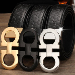 hot sell luxury belts designer belts for men buckle belt male chastity belts top fashion mens leather belt wholesale fast shipping on Sale