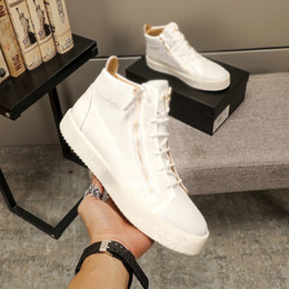 zippers running shoe Canada - High quality fashion designer sports shoes men and women arena casual shoes zipper competition running shoes outdoor sports shoelace