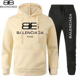 Wholesale mens corduroy coats for sale – winter Balanciaga mens tracksuit Sweatshirts Suits full zipper men track sweat suit coats man jackets sweatshirt High Quality Sportswear