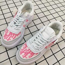 Опт 2020 новых женщин Low Cut One 1 Повседневная обувь Белый Черный Dunk Спорт Скейтборд обувь Классические Кроссовки Высокие кроссовки NR88