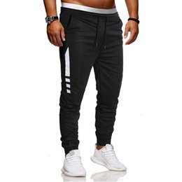 men lycra running pant 2021 - large New Capris tethered casual sports running training men's pants