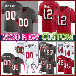 jason müller großhandel-Leonard Fourneted Custom Football Jersey Tom Brady Scotty Miller Jones II Jason Pierre Paul Shaquil Barrett Derrick Brooks Mike Alstott