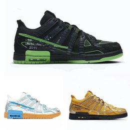 OWS x Nk Aird Rubber Dunkly University Gold Black White Virgils Shoes Green Strike Metallic Silver Sneaker Ablohes University Blue Top Shoes on Sale