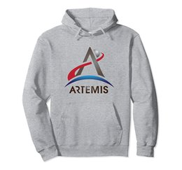 NASA Artemis Program Logo SLS We Are Going Moon To Mars 2024 Pullover Hoodie Unisex Size S-5XL with Color Black Grey Navy Royal Blue Dark He  на Распродаже