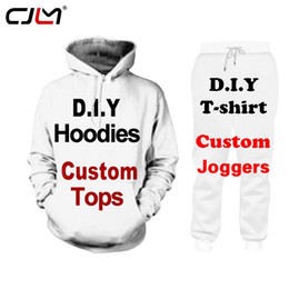 Discount custom tee printing CJLM 2 Piece Set 3D Custom Paint Party Memorial Couple Tank Tops Shorts Mens Sets Tshirt Hoodie Tee Set Joggers Shorts d
