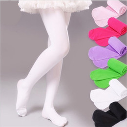 Spring Summer Baby High Sock Pure Colorful Multi Size Thin Ballet Dance Stockings Thin Design Girl Dancing Socks 4 2hs7 L2 on Sale