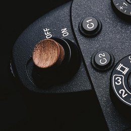 Camera Remotes & Shutter Releases Wood Release Button Accessories WITH STICKER For A9 A7m3 A7RIII ILCE-73 A7R MKIII1 on Sale