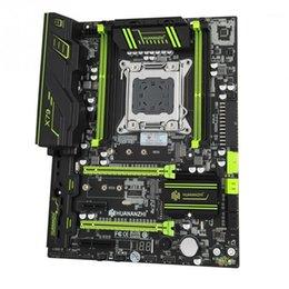 Toptan satış Tablet PC Anakartlar HUANANZHI X79 ECC Tam Hız LGA2011 ATX USB3.0 SATA3 4 Kanal Bilgisayar Anakart Profesyonel PCI-E NVME M.2 Reg