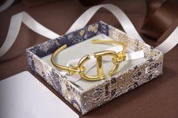 Wholesale Dijia   D home 2020 new fashion classic CD letter Bracelet net red temperament Seiko Bracelet girl
