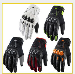 The new cross-country motorcycle riding gloves locomotive fall-resistant wear-resistant bicyclist racing full finger winter gloves waterproo