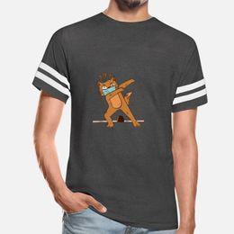 Corona Virus Dabbing Face Mask Virus Cat T Shirt Crewneck Hiphop Plus Size Tracksuit Hoodie Sweatshirt