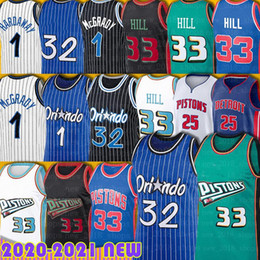 Discount tracy mcgrady jersey 25 Rose Derrick 1 Hardaway Jersey Penny Tracy 1 McGrady Dennis 10 Rodman Isiah 11 Thomas Basketball Grant 33 Hill Jonathan Detroits Isaac