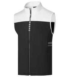 Wholesale ripped sweaters men resale online – Spring Autumn New Men JL Golf Sweater Vest Plus Thin Fleece Vest Sports Golf Clothes S XXL Sporin Choice Leisure Golf Vest