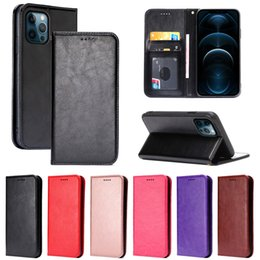 iphone se flip cases NZ - Classic Strong Magnet Leather Case Flip Book Cover for iphone 11 11 pro 7 Plus 8 Plus SE 2020 X Xs XR Xs Max 12 pro max 12 mini