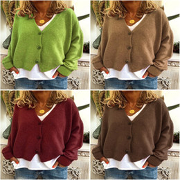 Wholesale maxi cardigan sweaters resale online - Spring Womens Casual Long Sleeve Cardigan Knit Knitwear Soft Modal Bamboo Sweater Coat Long Maxi Wraps Outwear M115