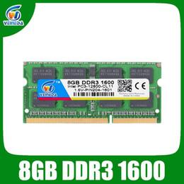 Veineda DDR3 8GB RAM SODIMM DDR 3 4GB 1600 1333 PARA INTEL AMD Portátil RAM Memoria en venta