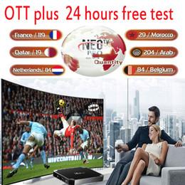 QHD NEO TV Programme 10000Live m 3 u Android smart aut TV US France Canada arabe néerlandais pays-bas australi allemagne espagne SHOW ipt on Sale