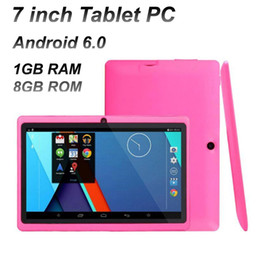 dual screen tablet android 2020 - Tablet PC 7 inch Quad Core A33 1024*600 HD screen Android 4.4 AllWinner A33 1GB + 8GB with Bluetooth Dual Camera Flashli