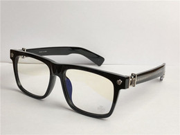 men optical BOX punk style design retro square frame top quality clear lens eyewear can do prescription glasses on Sale