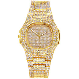 Discount heart calendars Chattering With The Tiktok Steel Band, Couples Watch, Wind Quality, Drill Calendar Quartz Diamond Watch Reloj De Diamantes
